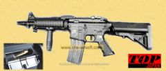 SR-16 KNIGHT'S CQB (ULTIMATE EJECTION + ELECTRIC BLOW BACK) by Top Japan